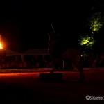 Barocke Sommernacht im kleinen Garten - bei Irene und Richard Hi