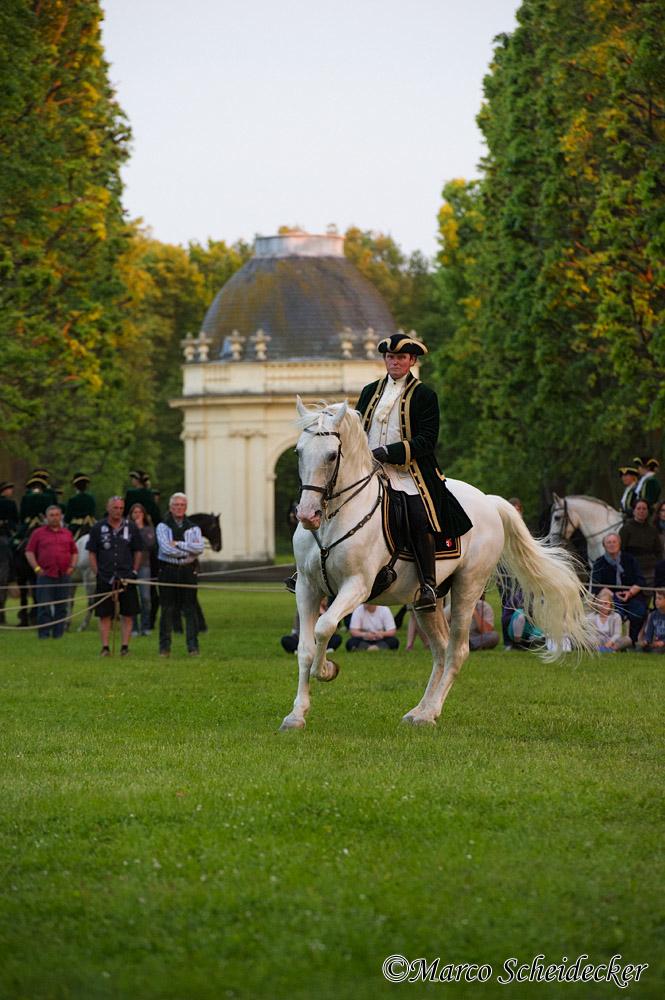 Herrenhäuser Gärten Feuerwerk Der Pferde 2013 Solo Richard