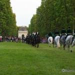 Herrenhäuser Gärten - Feuerwerk der Pferde 2013 - Große Quadr