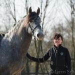 Barockes Reiten mit Richard Hinrichs 03-2014 - Kermés PRE Hengs