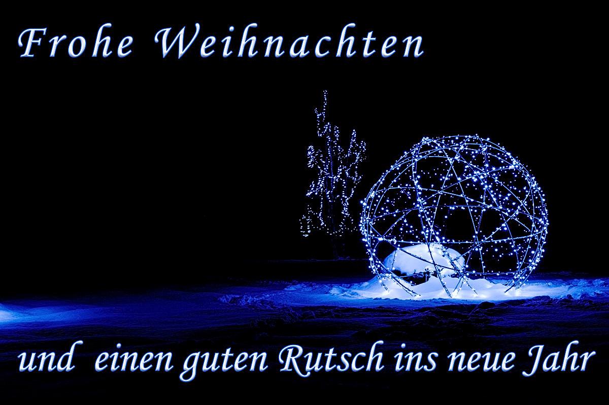 Frohe Weihnachten Einen Guten Rutsch Ins Neue Jahr.Frohe Weihnachten Und Einen Guten Rutsch Ins Neue Jahr Marco